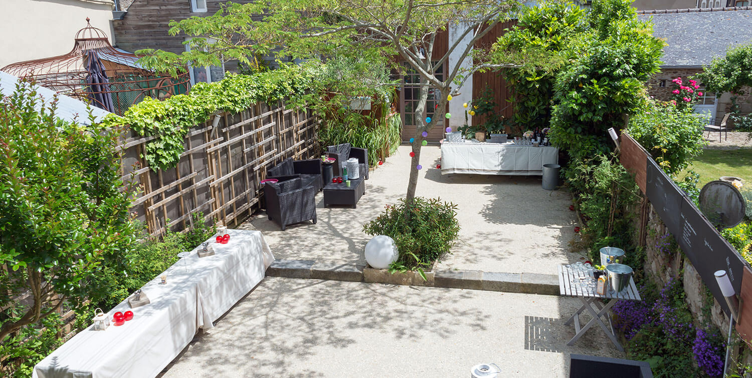 Terrase  privative